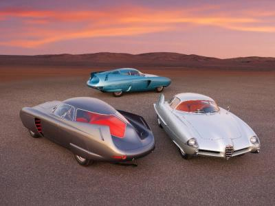 Renowned Alfa Romeo B.A.T. 5, 7 & 9 Offered as a Single Lot at Sotheby's Contemporary Art Evening Sale
