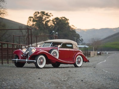 SHOW-STOPPING AUTOMOBILES AT RM SOTHEBY'S AMELIA ISLAND CONCOURS D'ELEGANCE SALE