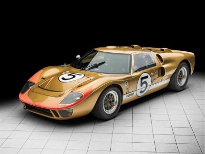 RM Sotheby's Monterey Auction to Feature Historic GT40 that Propelled Ford to First Le Mans Win