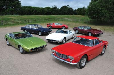 Outstanding Six-Car Maserati Collection Set For RM Sotheby's London Auction