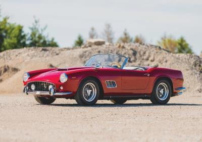 Ferraris for Road and Track in Full Force at RM Sotheby's Monterey Sale