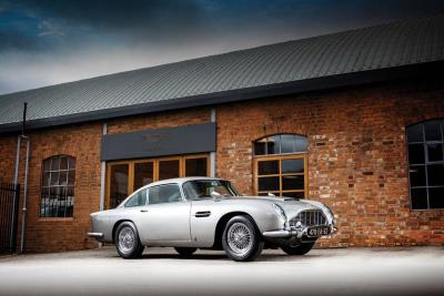 The Most Famous Car In The World: RM Sotheby's Presents James Bond Aston Martin DB5