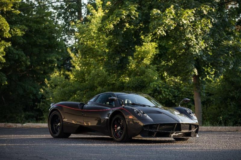 Pagani Huayra Achieves 1.85M in RM Sotheby's Largest Online Only Auction to Date
