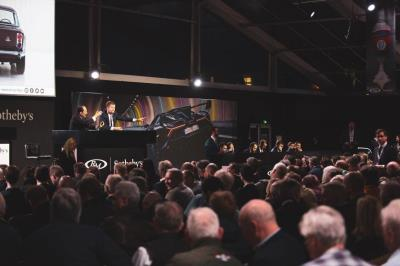 German Sports Icons Are Centre Stage In Paris As RM Sotheby's Concludes Its 7Th Annual Sale