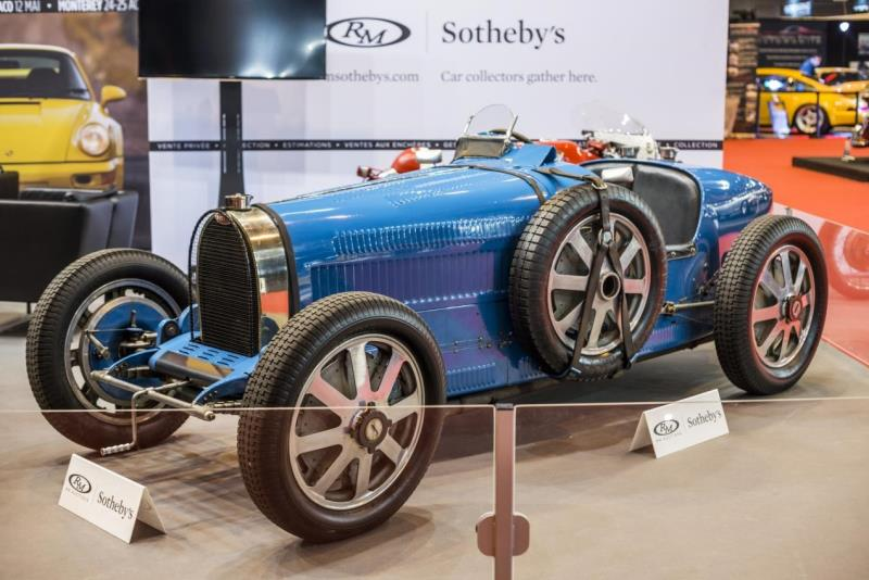 Bugatti Type 51A and Incredibly Original Porsche 911 2.7 RS Lightweight Take the Spotlight on RM Sotheby's Rétromobile Stand
