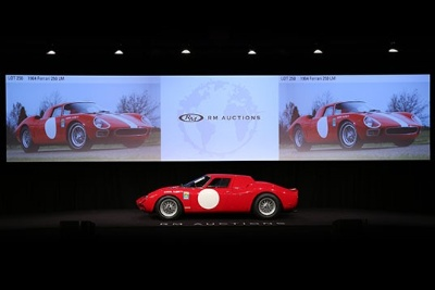Historic 1964 Ferrari 250 LM Races to an Impressive $9.6 Million as Records Tumble at RM's Arizona Sale