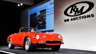 The Most Valuable Road-Going Car in Auction History Sells at RM Auctions' Historic $125,000,000 Monterey Sale