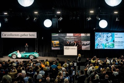 Most Valuable British Car Ever Sold at Auction Leads RM Sotheby's $133 Million Monterey Sale