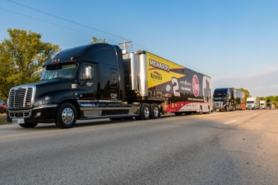 Plymouth High School Serves at Starting Point for NASCAR XFINITY Hauler Parade August 25