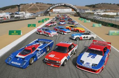 Unforgettable Moments Mark Third Day of Rolex Monterey Motorsports Reunion