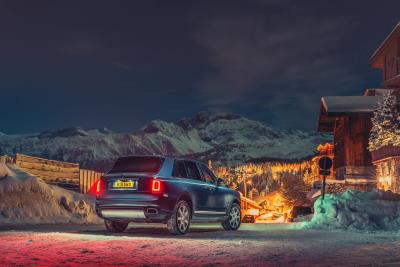 Rolls-Royce Cullinan Opens Ski Season With Alpine Studio Hotspot