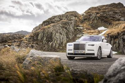 Rolls-Royce Phantom Named 'Best Supernatural Driving Experience' By British GQ