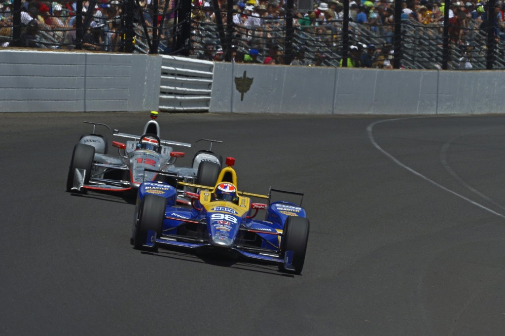 INDY ROOKIE ROSSI GRABS GOLD AS HONDA TAKES TOP TWO IN 100TH RUNNING ...