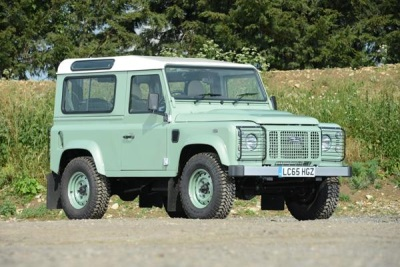 Rowan Atkinson's Limited Edition Land Rover Defender For Sale