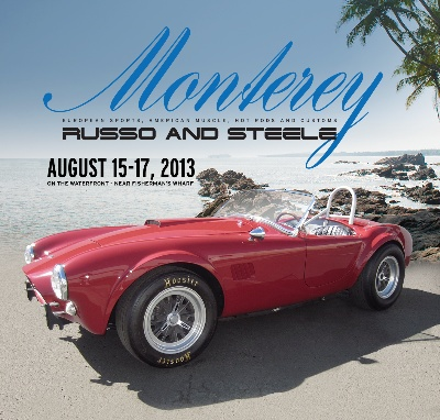 Extremely Significant, Early Shelby Cobra Roadster an Exceptional and Early Headline Consignment to Russo and Steele's Upcoming Monterey Auction