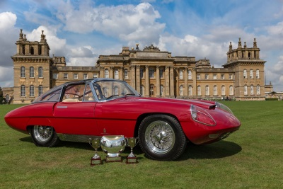 Italy's Finest Crowned At Salon Privé 2017 During Chubb Insurance Concours d'Elégance Spectacular