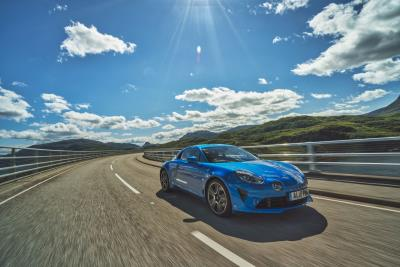 Alpine A110 'Légende' On Display And Available For Test – Drive At Salon Privé