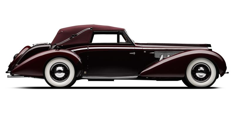 Salon Privé Surrenders To The Beauty Of The Mullin Delage D8-120 Cabriolet