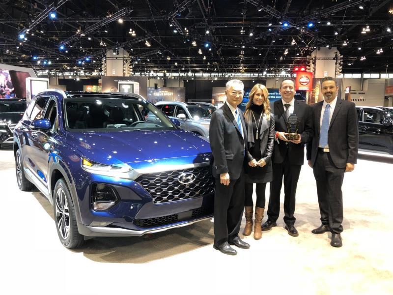 2019 Hyundai Santa Fe Receives Long-Term Ownership Value Award From Kelley Blue Book