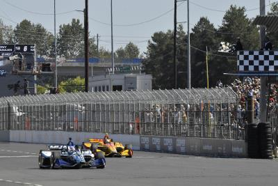 Sato, Honda Victorious In Indy Car Return To Portland