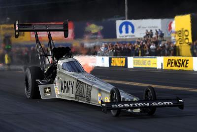 Schumacher Runner-Up In Mopar-Powered U.S. Army Top Fuel Dragster At Dodge NHRA Nationals