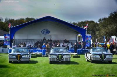 The Scimitar Prototypes at The Amelia Island Concours