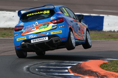 Deegan Forms New SDR Motorsport Team To Contest 2017 Renault UK Clio Cup