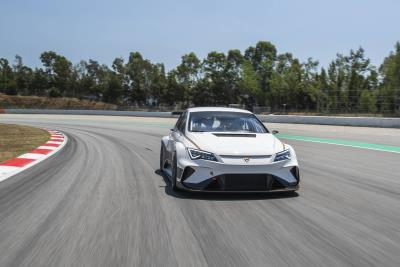 World's First Fully Electric Touring Car Hits Track With Mattias Ekström