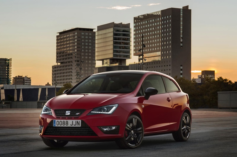 SEAT ANNOUNCES UK PRICING AND SPECIFICATION FOR NEW-LOOK IBIZA CUPRA RANGE
