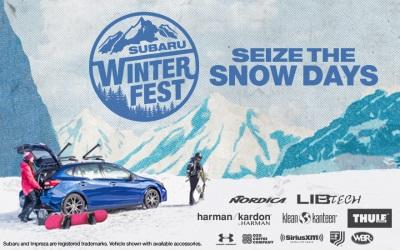 SEIZETHESNOWDAYS: SUBARU WINTERFEST LIFESTYLE TOUR