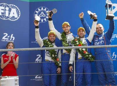 Signatech Alpine Matmut Finishes Second In The 24 Hours Of Le Mans And Takes The Lead In The FIA WEC LMP2 Championship