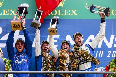 Signatech Alpine Matmut Doubles Up: Victory In The 24 Hours Of Le Mans And The LMP2 World Title