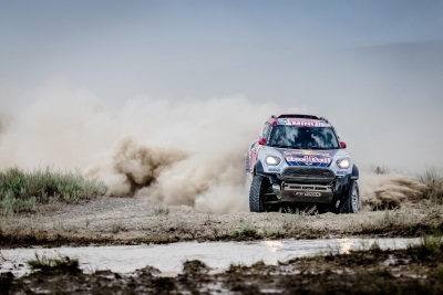 Silk Way Rally 2017 – Mini John Cooper Works Rally Wins Leg 7