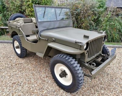 A Great Escape For The King Of Cool's Willys Jeep At The NEC