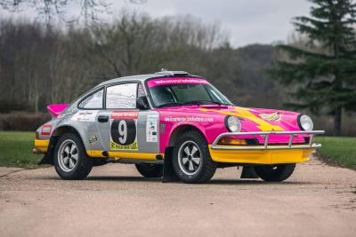 An amazing opportunity to take ownership of East African safari winning Tuthill 1975 Porsche 911 Carrera MFI Safari Rally Car
