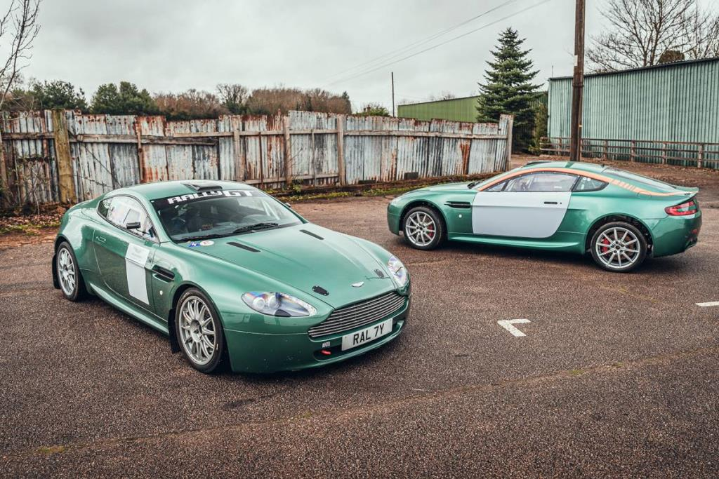 Double Delight A Pair Of Aston Martin Vantage Rally Gt Cars And Two Invictus Games Jaguar Ftypes