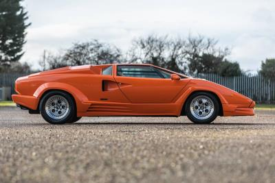 Low Mileage, One Owner From New 25Th Anniversary Lamborghini Countach To Feature In Race Retro Auction