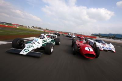 Preview Day Provides Free Testing Opportunities For Silverstone Classic Competitors