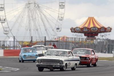 CURTAIN COMES DOWN ON ANOTHER SENSATIONAL SILVERSTONE CLASSIC BLOCKBUSTER