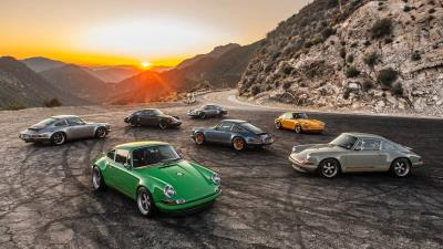 Catch The Rainbow Assortment And Win A 'Behind The Scenes' Tour Of Singer Vehicle Design And Petrolicious Membership