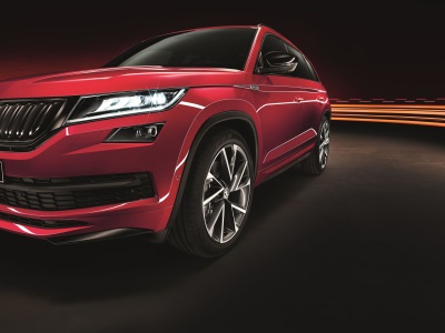 The Race Is On As UK Order Books Open For The Dynamic New Kodiaq Sportline