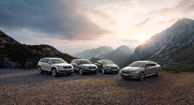 Record Registrations For Škoda In March