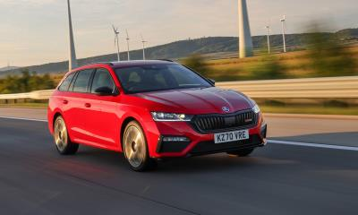 Electrifying New Škoda Octavia Vrs Iv Charges Into The UK