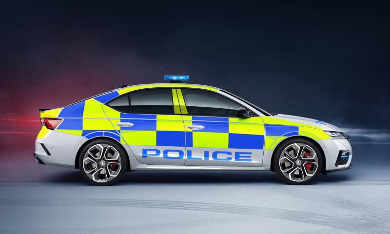 Ready For Action: New Fourth-Generation Škoda Octavia vRS Now Available To UK Police Forces