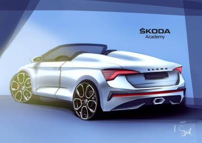 Seventh Škoda Student Concept Car Is Taking Shape: Students Working On A Spider Variant Of The Škoda Scala