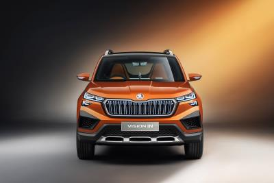 Škoda At The Auto Expo 2020 In New Delhi: Vision In Concept Study Is First Car From The India 2.0 Project