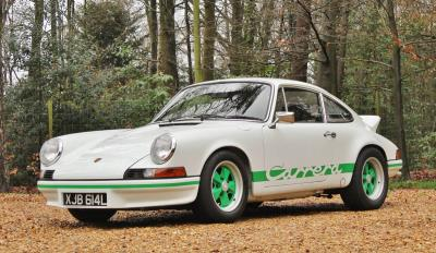 911 Carrera RS 2.7 Headlines Silverstone Auctions' Autosport Debut