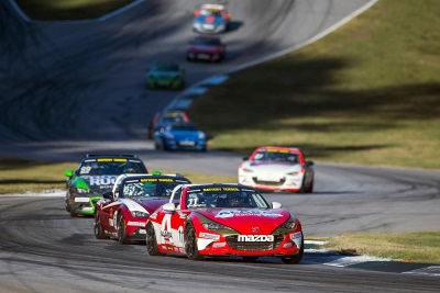 NATHANIAL SPARKS WINS 2016 BATTERY TENDER GLOBAL MAZDA MX-5 CUP PRESENTED BY BFGOODRICH TIRES