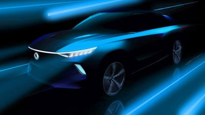 SsangYong Teases Electric E-SIV Concept At Geneva