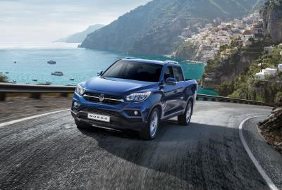 New SsangYong Musso Pick-Up To Feature At The CV Show